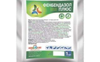Инструкция по применению Фенбендазола от гельминтоза