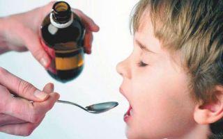 Сироп от глистов для детей: список лучших