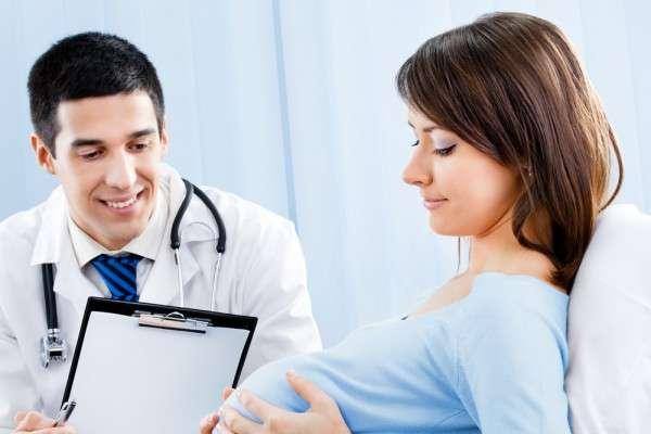 у врача при беременности