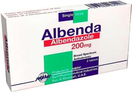 альбенадзол препарат