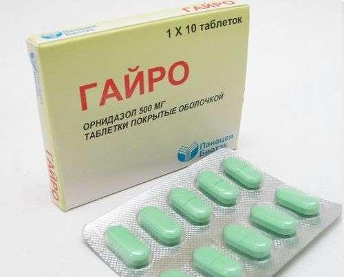 таблетки гайро