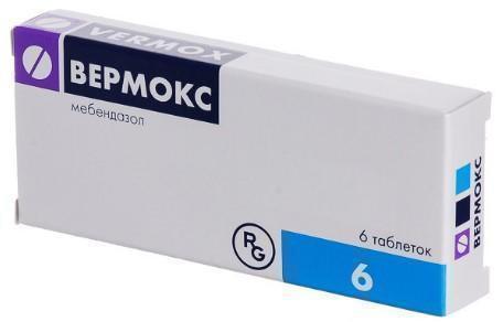 таблетки Вермокс