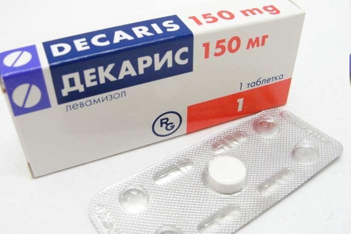 декарис таблетки от глистов