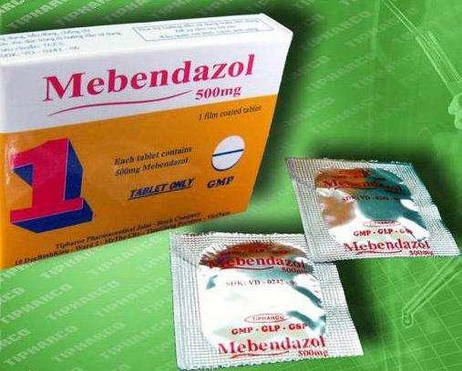 мебендазол таблетки