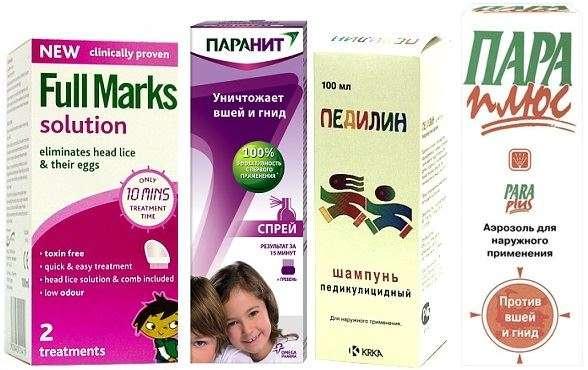 лекарства от вшей