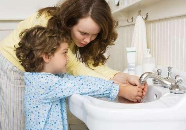 руки мытье