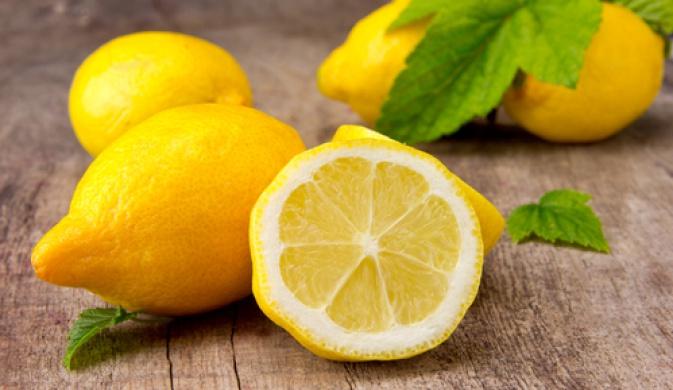 спелый лимон