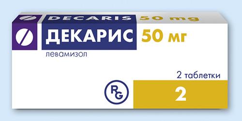 таблетки Декарис