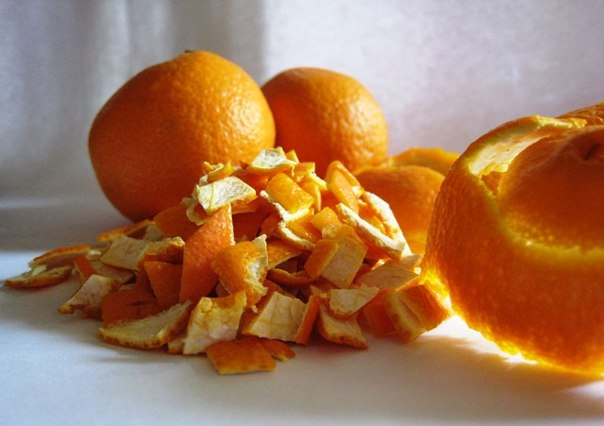Кожура апельсина и кора ивы
