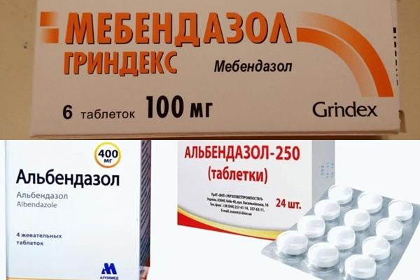таблетки от эхинококкоза