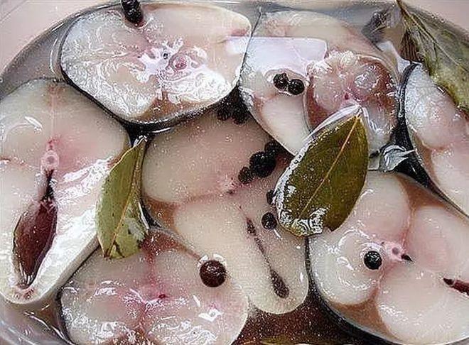 Рыба в рассоле